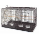 Canary Finch Breeding Cage Carrier with Divider