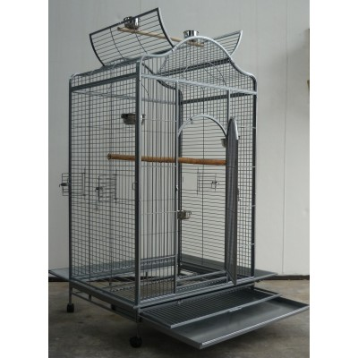 Large Bird Cage Parrot Aviary Open Roof 183cm